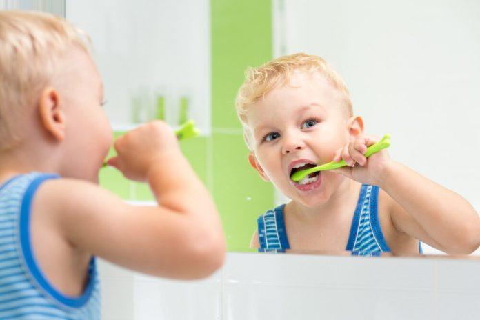 bain de bouche pour enfant