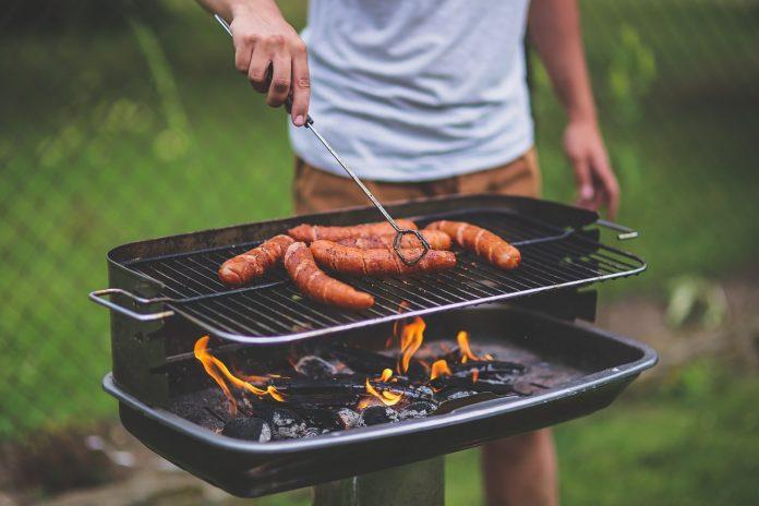 repas au barbecue
